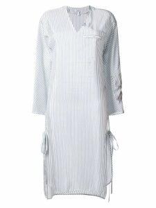 Loewe striped shift dress - White