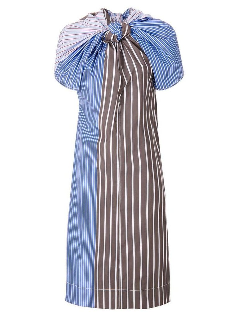 Marni knotted stripe dress - Multicolour