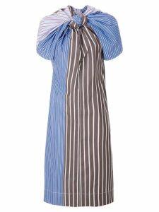 Marni knotted stripe dress - Multicolour