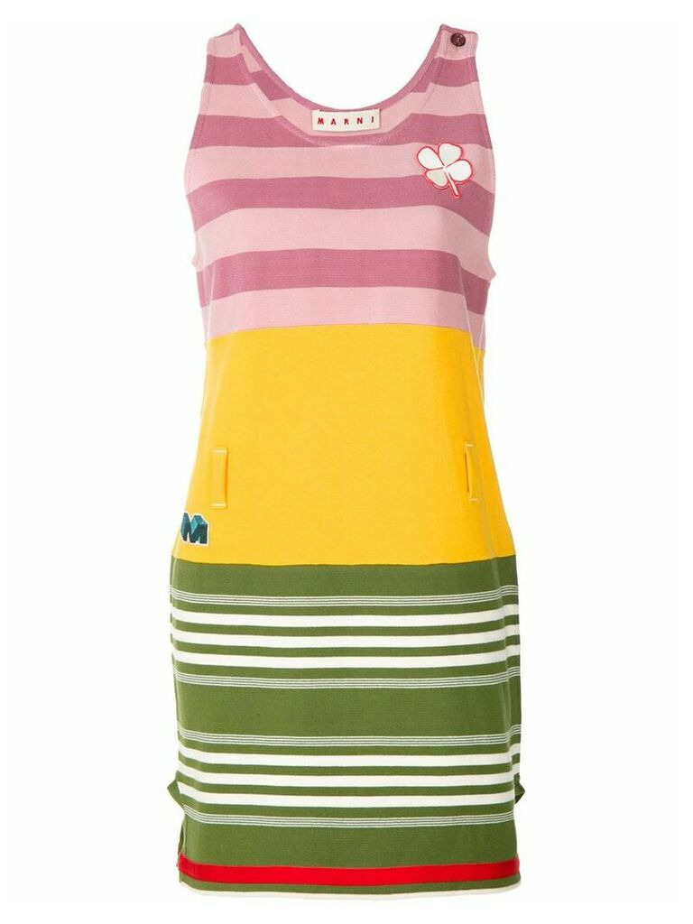 Marni striped day dress - Multicolour