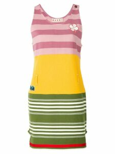 Marni striped day dress - Multicolour
