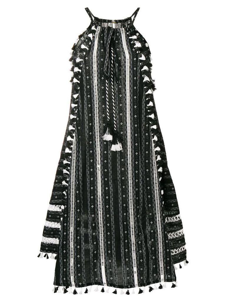 Dodo Bar Or embroidered midi dress - Black