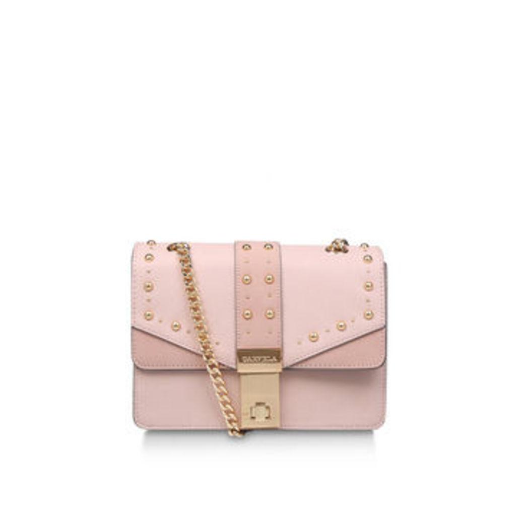 Carvela Brittany Studded Xbody - Pale Pink Studded Crossbody Bag