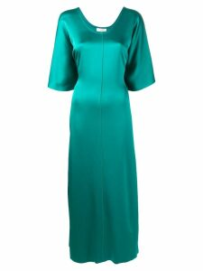 Forte Forte long straight fit dress - Green