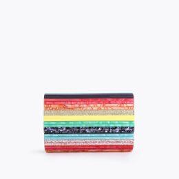 Kurt Geiger London Party Envelope - Rainbow Party Clutch Bag