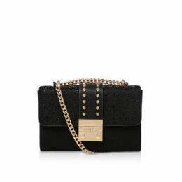 Carvela Kankan Jewel - Black Studded Shoulder Bag