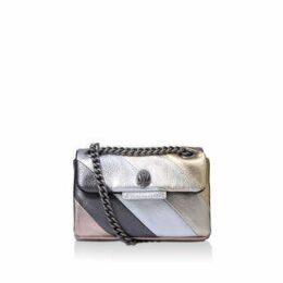 Kurt Geiger London Leather Mini Kensington - Metallic Shoulder Bag