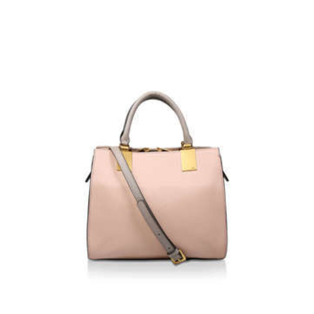 Kurt Geiger London Leather Emma Sm Tote - Pink Leather Tote Bag