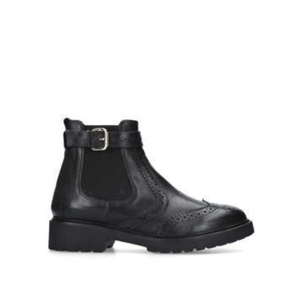 Carvela Stoppitt - Black Leather Ankle Boots