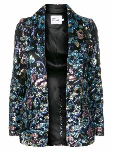 Self-Portrait sequin blazer - Black