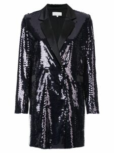Fleur Du Mal sequin embroidered blazer - Black