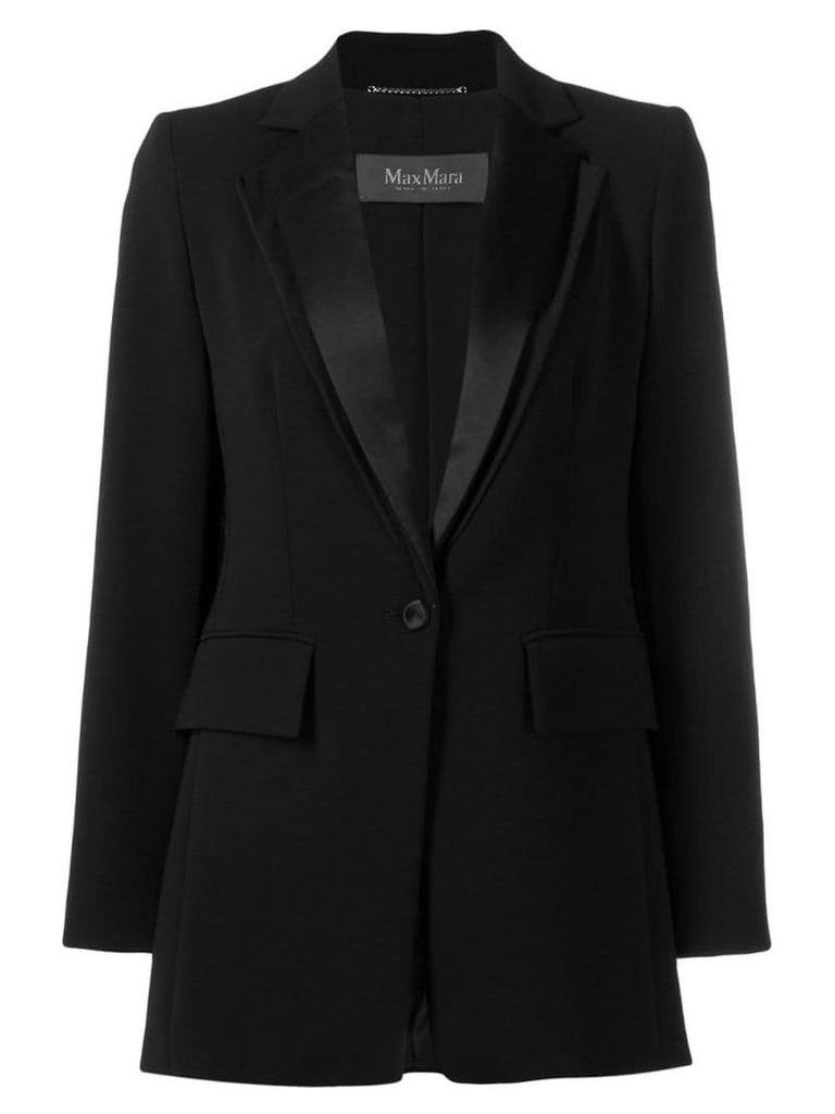 Max Mara Dallas single-breasted blazer - Black