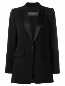 Max Mara Dallas single-breasted blazer - Black