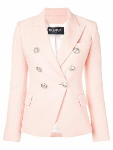 Balmain double-breasted blazer - Pink
