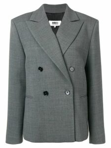Mm6 Maison Margiela boxy fit blazer - Grey