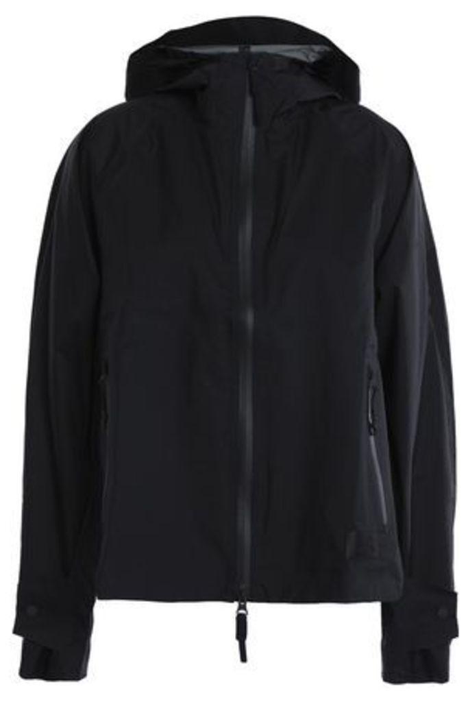 Adidas Woman Shell Hooded Jacket Black Size XL
