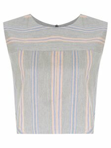 Olympiah Piaggia cropped top - Grey
