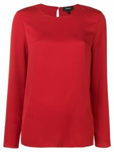 Theory longsleeved blouse - Red