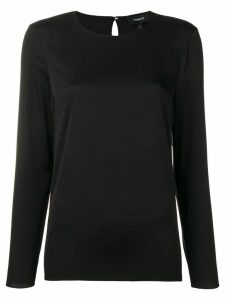Theory longsleeved blouse - Black