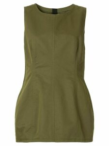 Marni sleeveless peplum blouse - Green