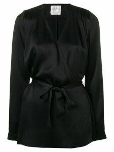 Forte Forte belted waist blouse - Black