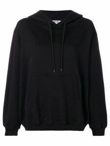 MSGM logo hoodie - Black