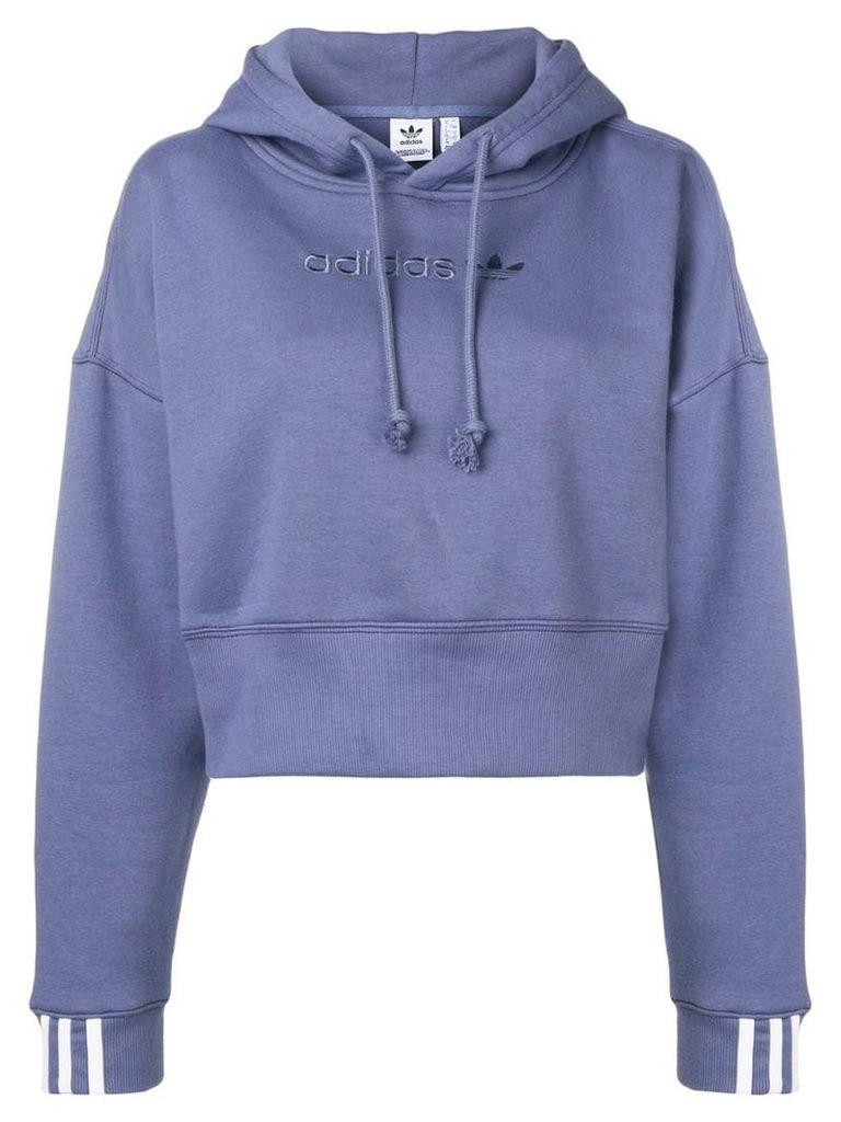 Adidas Coeeze cropped hoodie - Blue