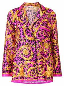 P.A.R.O.S.H. long-sleeve printed shirt - Pink