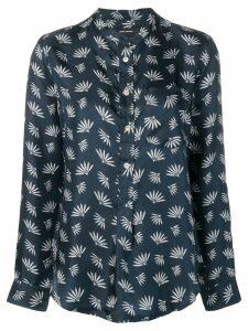 Isabel Marant Usak printed shirt - Blue