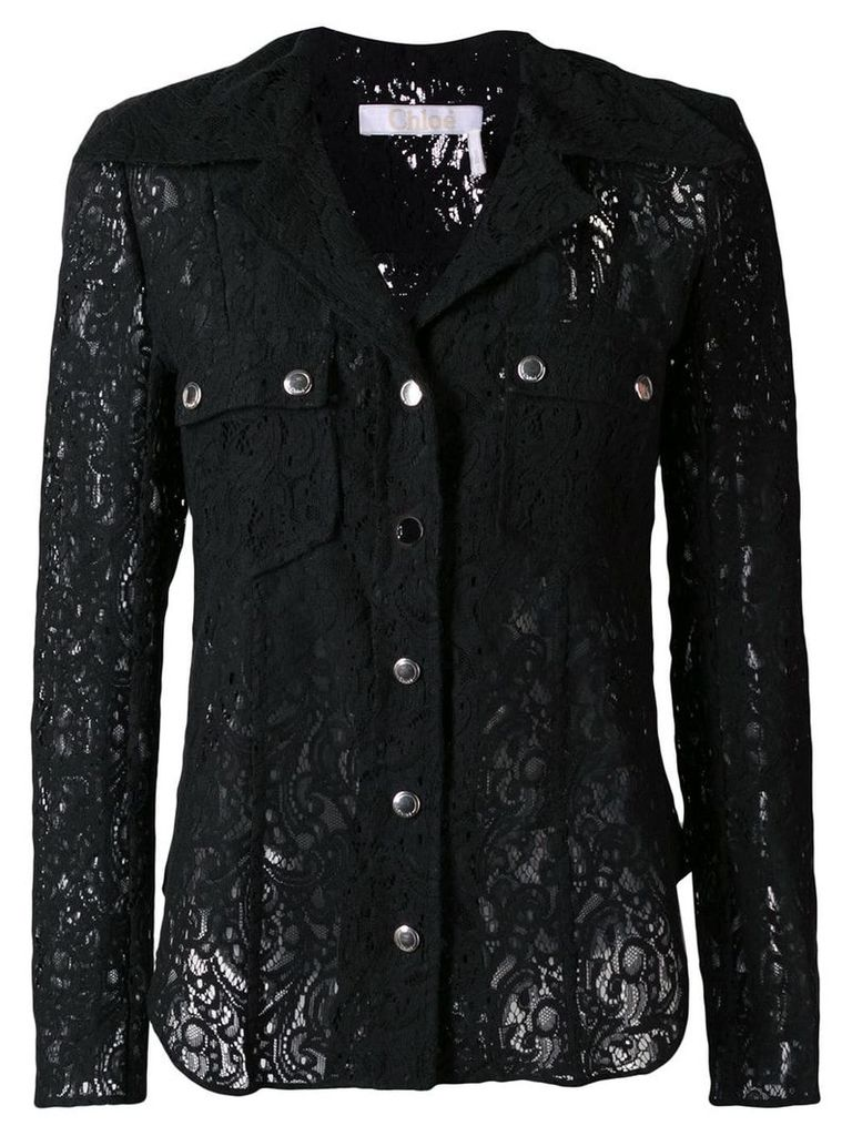 Chloé lace shirt - Black