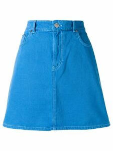 Ganni Sheldon denim skirt - Blue