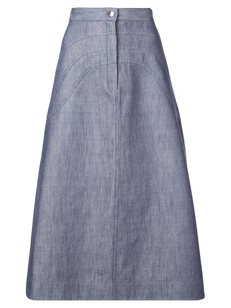 Jill Stuart A-line denim skirt - Blue