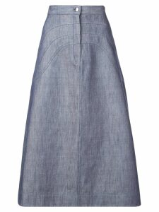 Jill Stuart A-line denim skirt - Blue