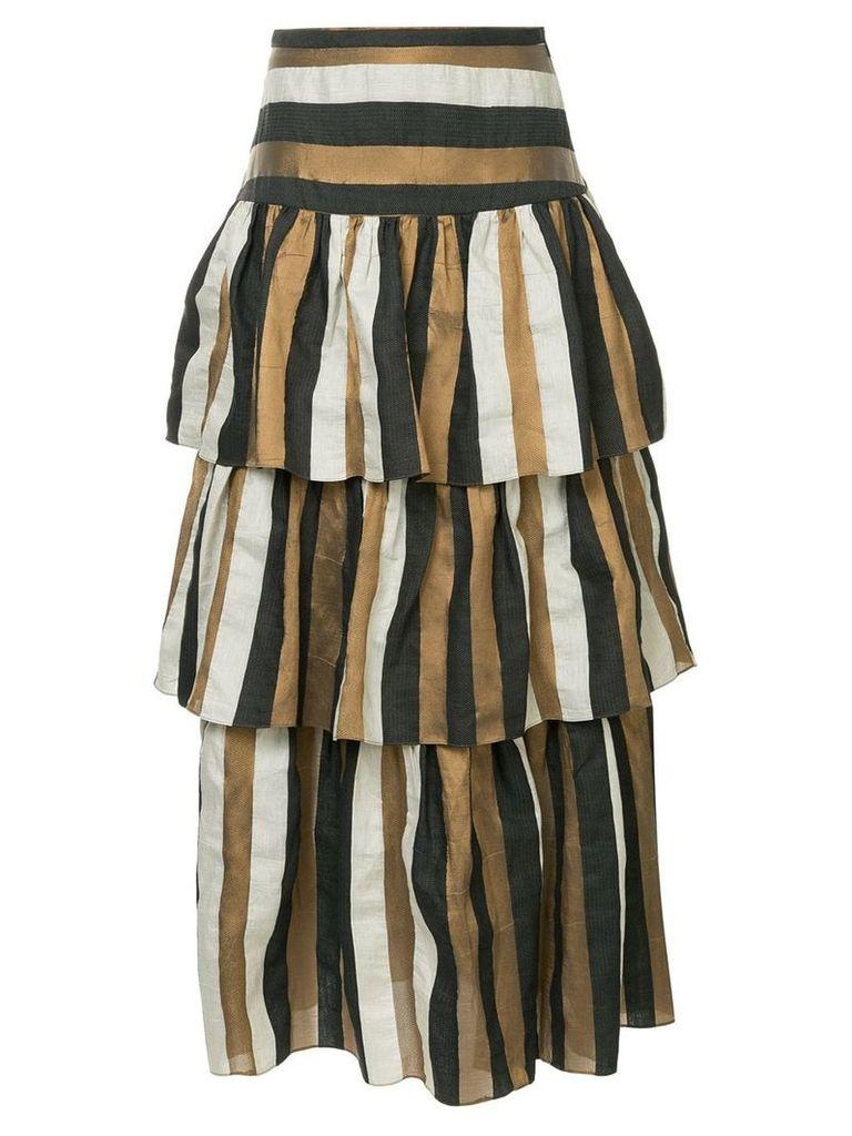 GINGER & SMART Heritage striped skirt - Multicolour