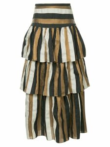 GINGER & SMART Heritage striped skirt - Multicolour