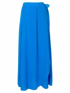 Forte Forte side tie skirt - Blue