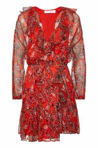 Iro Pacify Floral Wrap Dress