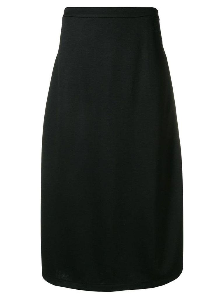 Être Cécile side stripe skirt - Black