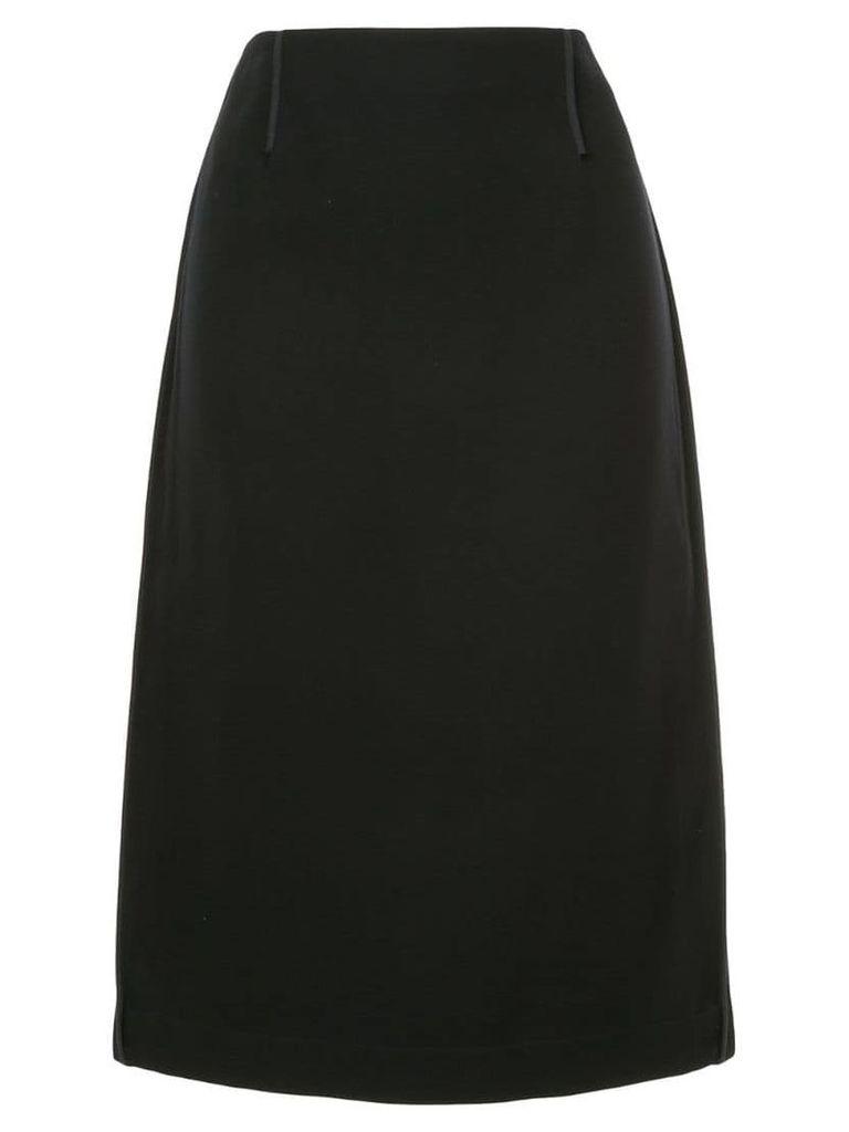 Marni high waisted straight skirt - Black