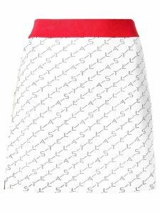 Stella McCartney A-line mini skirt - White