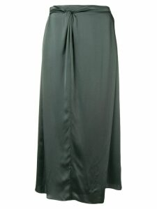 Vince straight midi skirt - Grey