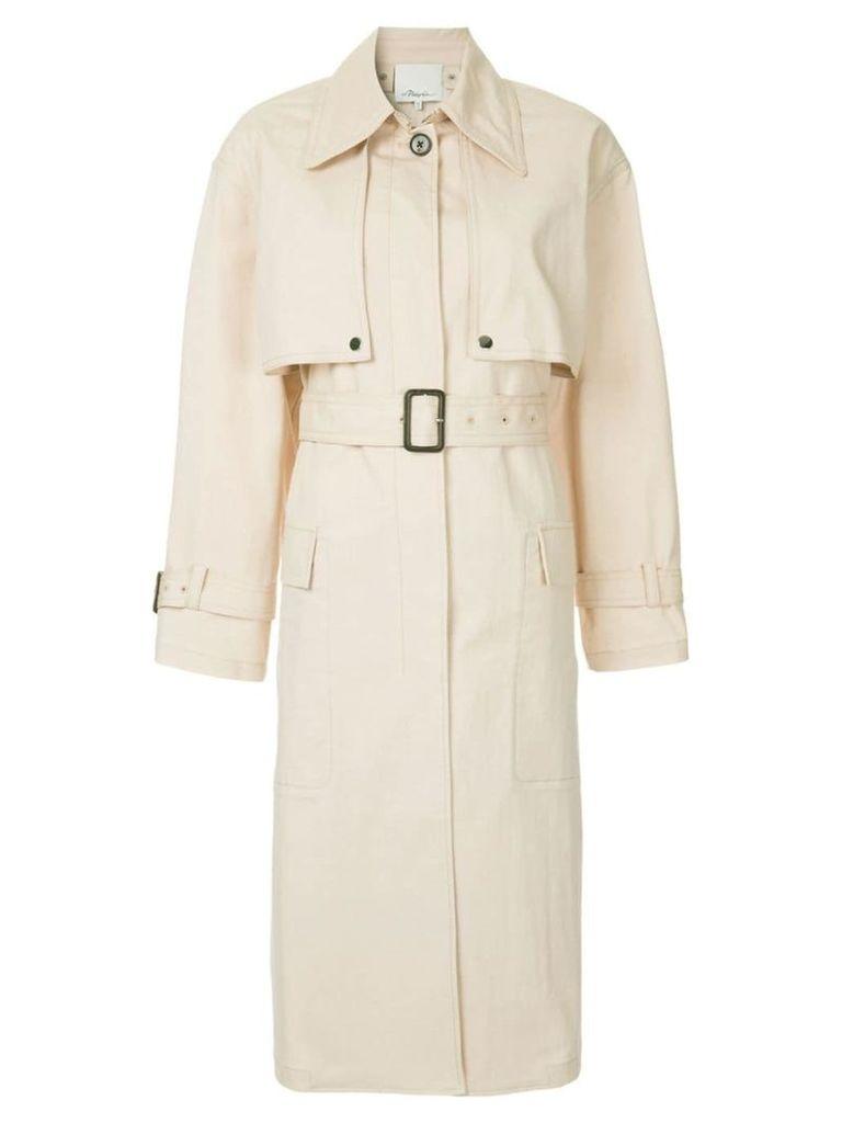3.1 Phillip Lim classic trench coat - Neutrals