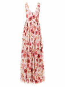 Clube Bossa Mariota printed dress - Pink