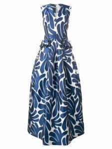 Talbot Runhof Momo dress - Blue