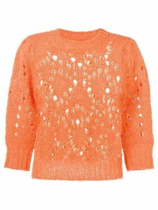 Isabel Marant Étoile Sinead distressed jumper - Orange