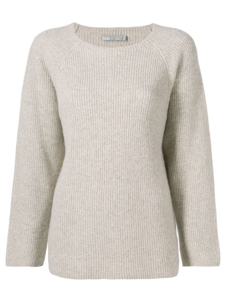 Vince ribbed knit sweater - Neutrals