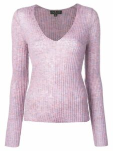 Rag & Bone Donna V-neck jumper - Purple