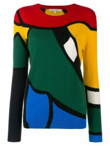 Chinti & Parker colour-block fitted sweater - Green