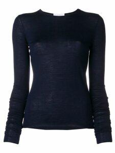 Christian Wijnants fine knit sweater - Blue