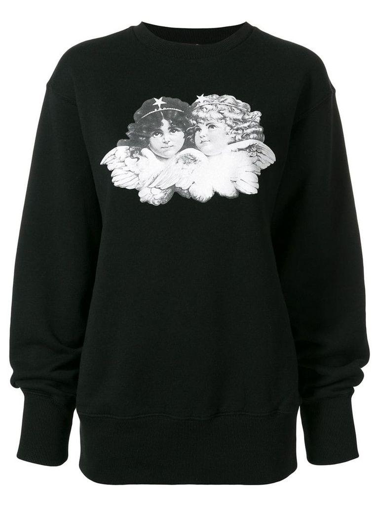 Fiorucci logo sweatshirt - Black